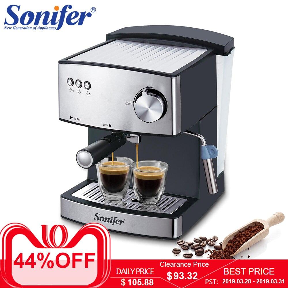 1.6L эспрессо Электрический Кофе машина пены чайник электрический молоковзбиватель кухонная техника Sonifer