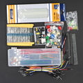 Free Shipping generic parts package + 3.3V/5V power module+MB-102 830 points Breadboard +65 Flexible cables+ jumper wire box