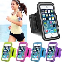 Luxury Outdoor Running Fishing Band For Iphone 5 5S 5G SE Leather Case Belt Wrist Strap