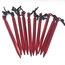 Set of Aluminum Tent Stakes