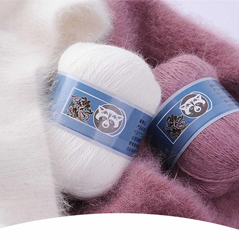 50 + 20 G/set Lange Pluche Nertsen Kasjmier Garen Anti-Pilling Fijne Kwaliteit Hand-Breien Draad Voor Vest sjaal Geschikt Voor Vrouw