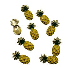 2pcs/set New Fashion Collares Sweet Korean Version Fruit Pineapple Pendant Necklace For Women Jewelry Chain Clavicle Collier(China)