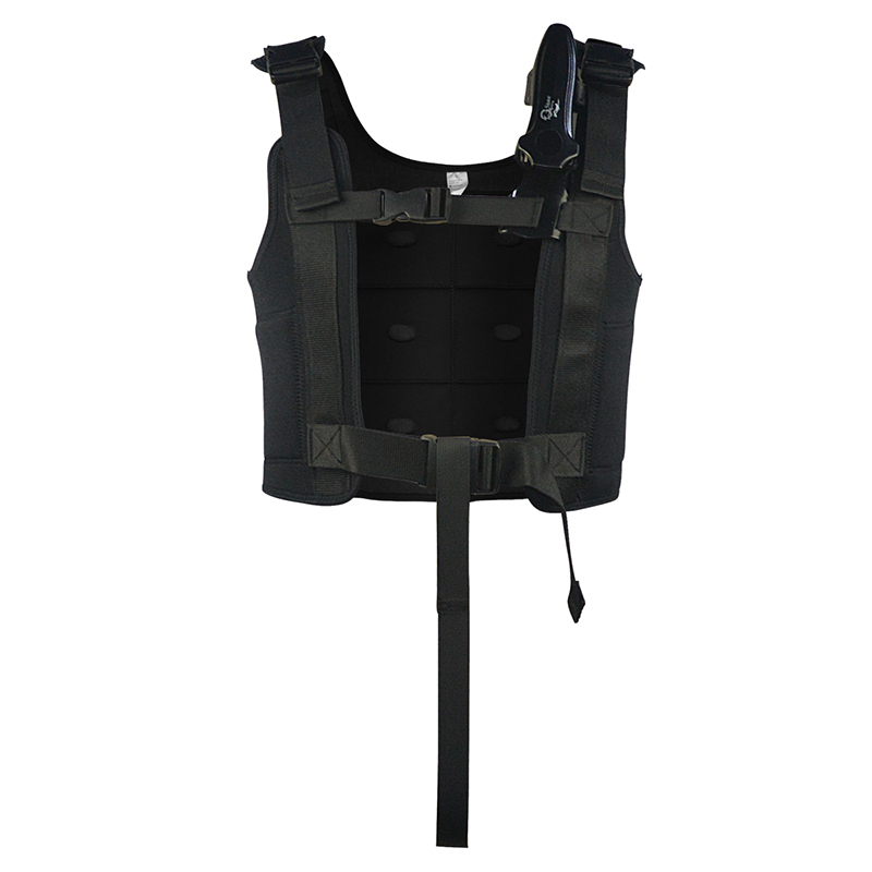 Layatone Men Wetsuit Vest 3mm Neoprene Wetsuit Weight Running Vest Spearfishing Underwater Fishing Hunting Diving Suit