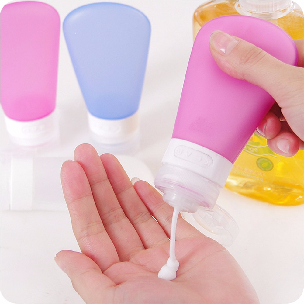 1PCS Portable Plastic Soap Dispenser Travel Bottle Liquid Bottling Shampoo Lotion Shower Gel Dispenser Foam Pump Bottles