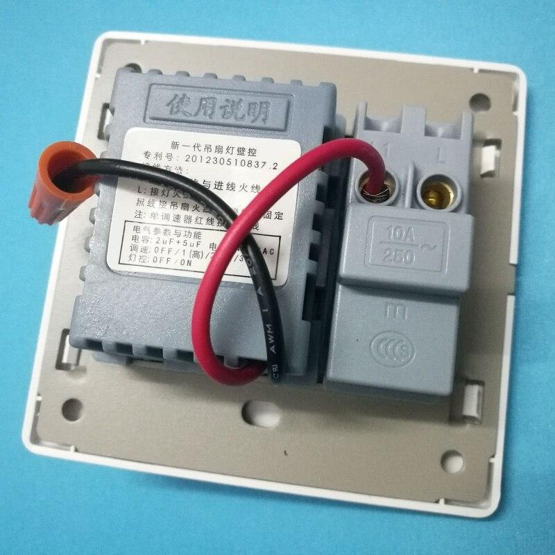 Fans Chandelier 86 Wall switch / Fan Speed Controller / Ceiling Fan ...