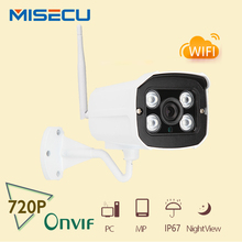 MISECU New Night Vision 1280*720P HD 1.0MP P2P&Wireless Waterproof Wifi ONVIF camera IR In/Outdoor CCTV Security IP CCTV System