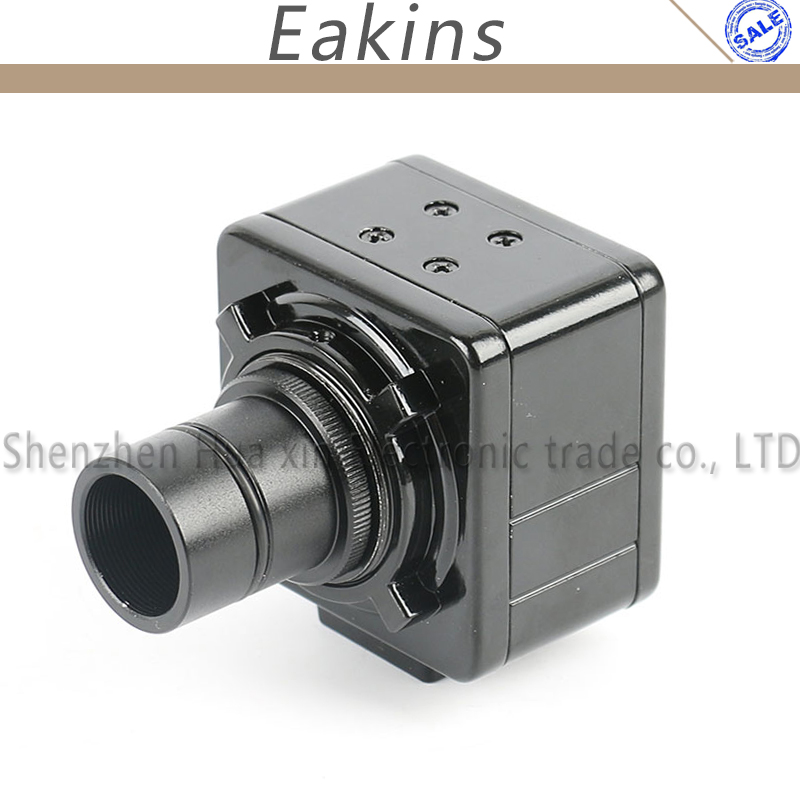 5 0MP USB Cmos Camera Electronic Vdieo Digital Eyepiece Industry Microscope 23 2mm Adapter C mount