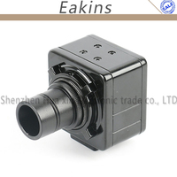 5.0MP USB Cmos Camera Electronic Vdieo Digital Eyepiece Industry Microscope 23.2mm Adapter C mount For Biological microscope