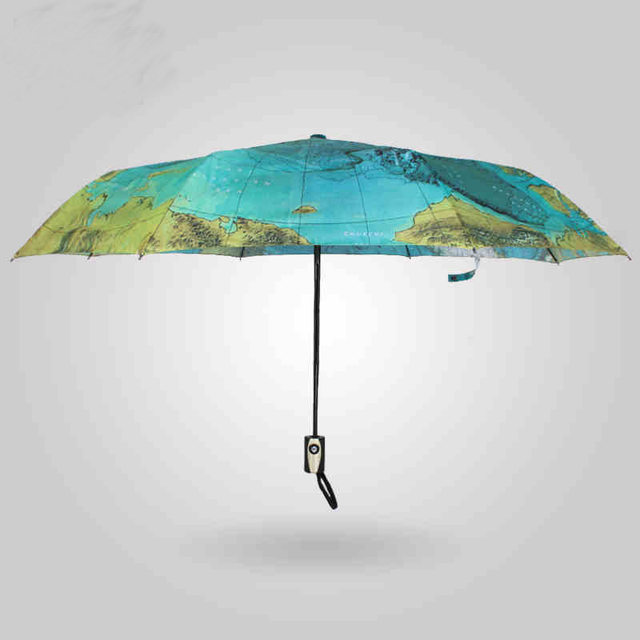 Online shop 2018 english world map umbrella originality artistic 2018 english world map umbrella originality artistic flower cute uv protection personality automatic sun umbrella gumiabroncs Gallery