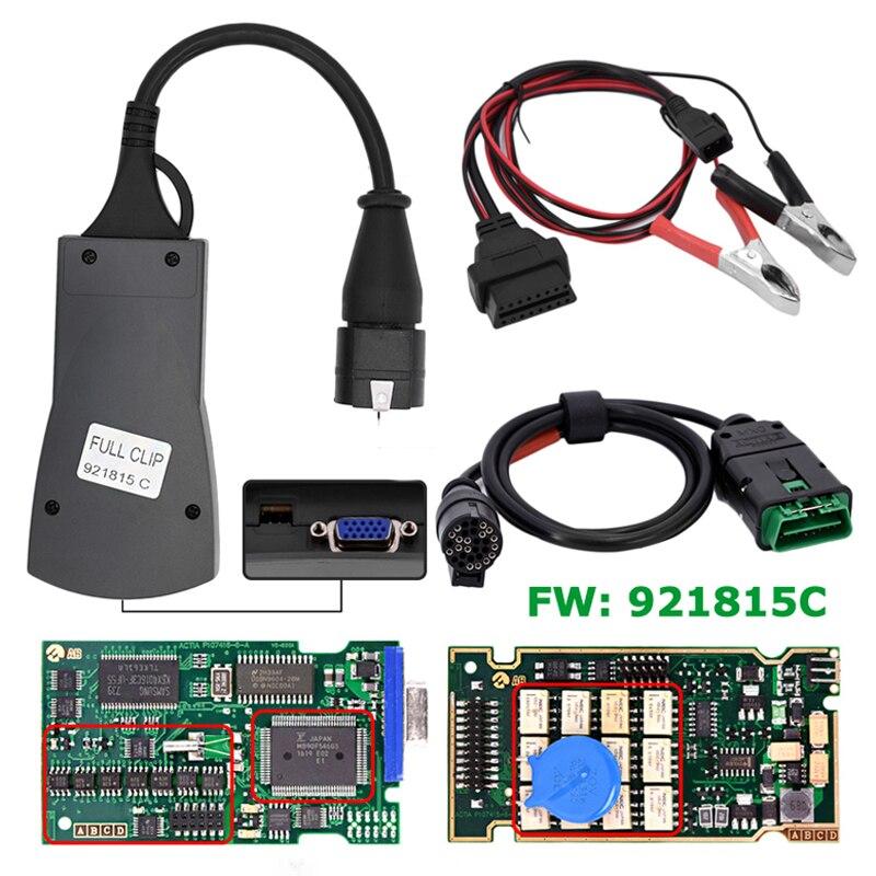 2pcs/lot Best Quality Full Chip 921815C Firmware Diagbox V7.83 Lexia 3 PP2000 Lexia3 Diagnostic Tool Lexia-3 PP2000 V48/V25 все цены