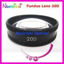 20D kadar iyi volk Lens! Oftalmik asferik Fundus Retina yarık lamba kontakt lens siyah deri Metal kasa paketlenmiş ücretsiz kargo