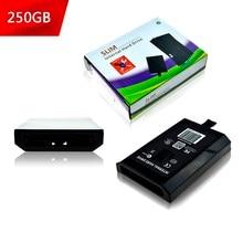 120GB 500GB 320GB 250GB 60GB 하드 드라이브 디스크 (Xbox 360 슬림 게임 콘솔 용) Microsoft XBOX360 Slim 용 내부 HDD 하드 디스크