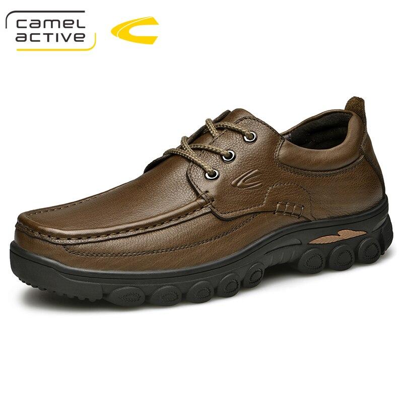 Sapatos Deep Livre Novos Active Casuais De Homens Calçados Dos Couro Ar Brown Tênis Camel Ao Handmade Walking Vaca cáqui Confortáveis Flats 5qUwvWxE