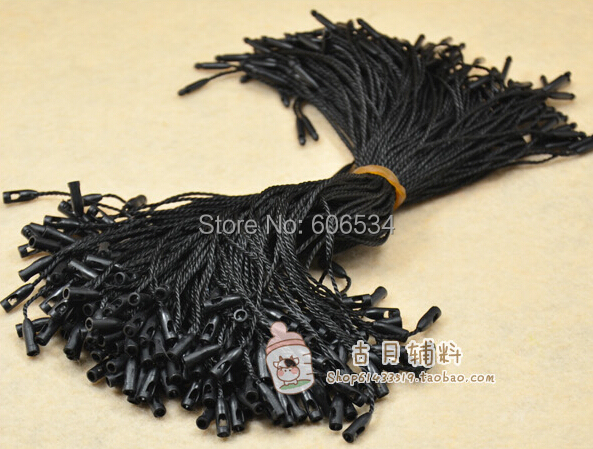 In Stock Good Quality Hang Tag String In Apparel,hang Tag Strings Cord For Garment,stringing Price Hangtag Seal  Bullet Head