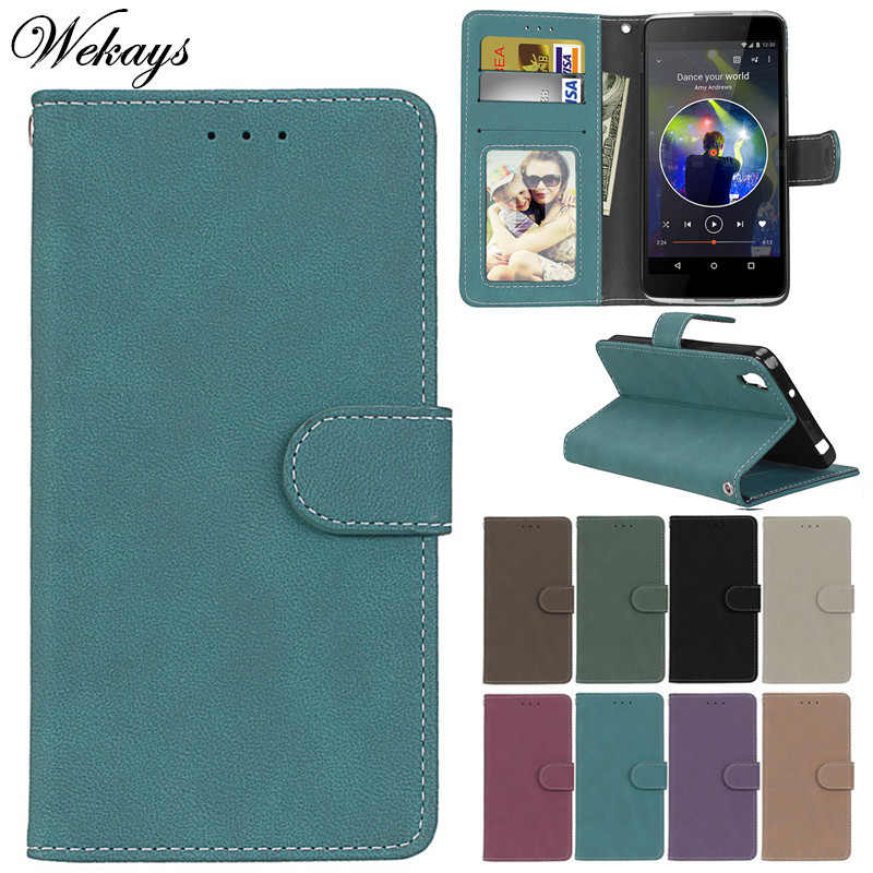 Wekays For Coque <font><b>Alcatel</b></font> <font><b>Idol</b></font> <font><b>4</b></font> <font><b>6055K</b></font> Luxury Business Leather <font><b>Flip</b></font> Fundas <font><b>Case</b></font> sFor <font><b>Alcatel</b></font> One Touch <font><b>Idol</b></font> <font><b>4</b></font> OT6055 Cover <font><b>Cases</b></font> image