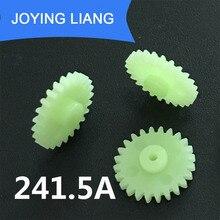 Gear-Wheel Pinion-Accessory 24-Teeth-Hole Motor-Parts DIY Tight 10pcs/Lot Model-Toy