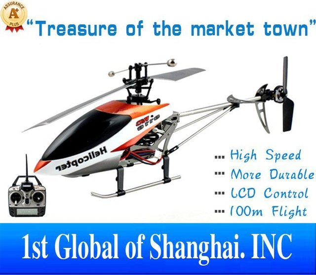 Free shippping Unique toys Amazing Double Horse 4CH 2.4G 9116  Radio Control Big Helicopter