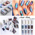 1 Bottle 4*100cm Starry Sky Nail Foils Multicolor DIY Manicure Nail Art Transfer Sticker Decoration Accessories