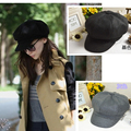 Wholesale Spring/Summer 2014 New Fashion wool a  hats & caps Fedoras hat octagonal cap trucker sun hat for women  Free shipping