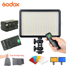 Godox LED308 Wireless Remote Control LED Video Light For Canon Nikon Sony Camera Camcorder For Photography Light with Battery