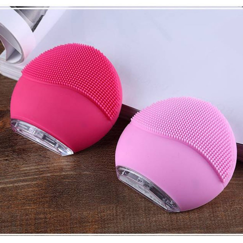 Multi-Functional SHIP Electric Facial Cleansing Brush Face Washing USB Vibration Skin Blackhead Removal Pore Cleanser SiliconeMulti-Functional SHIP Electric Facial Cleansing Brush Face Washing USB Vibration Skin Blackhead Removal Pore Cleanser Silicone