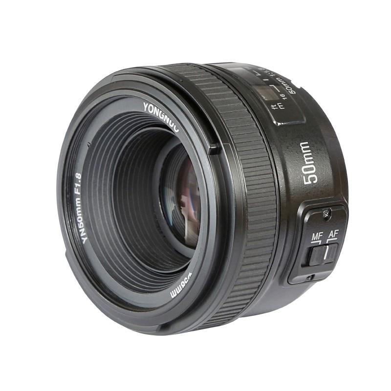 New Yongnuo YN50mm YN MF 50mm f 1 8 AF Prime Lens Auto Manual Focus AF