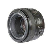 Новый Yongnuo YN50mm YN MF 50 мм f/1,8 AF объектив с фиксированным фокусным расстоянием авто ручной фокусировки AF MF для Nikon D7100 D3200 D3300 D5300 D90 DSLR Камера