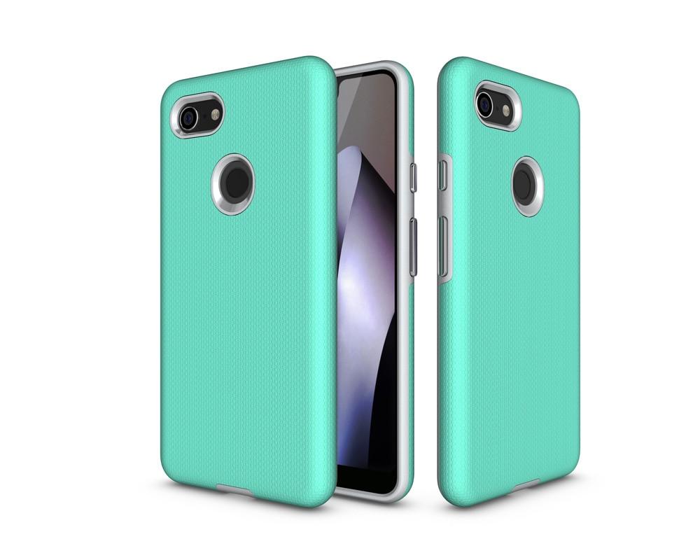 For Google Pixel 3 Pixel3 Case Cover For Google Pixel 3 XL Case Hard PC &Amp; TPU Hybrid Non-Slip Back Cover Matte Phone Cases