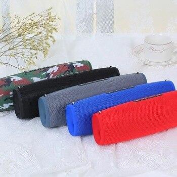 Mini TV E9 Bluetooth Speaker Radio Portable Soundbar support TF dual speaker dual diaphragm subwoofer