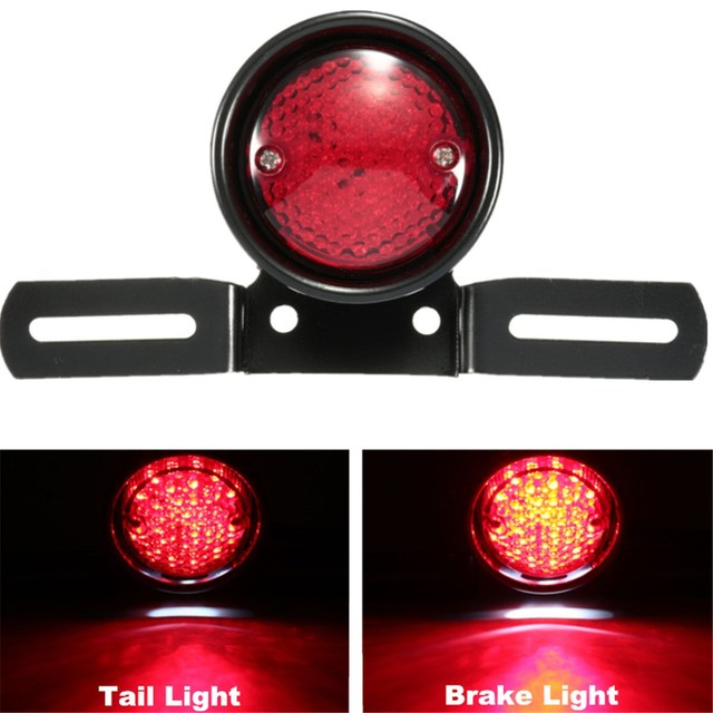 12V Universal Motorcycle Red LED Rear Tail Stop Brake Light Lamp for Honda for Yamaha for Kawasaki