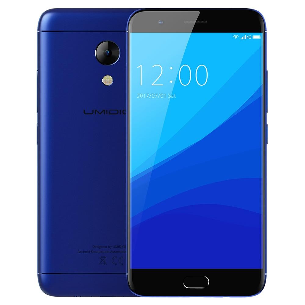 UMIDIGI C2 4G Smartphone Android 7.0 5.0 inch MTK6750T Octa Core 1.5GHz 4GB RAM 64GB ROM 13.0MP Rear Camera 4000mAh Battery