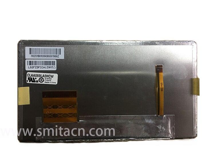 6.9 inch LCD DispLCD display CLAA069LA0ACW,CLAA069LA0DCW,CLAA069LA0HCW  Car GPS Navigation LCD Display 6 95 inch screen claa069la0acw claa069la0dcw claa069la0hcw