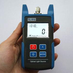 Image 5 - FTTH Optical Multimeter TL510A Optical Power Meter + TL512 1310/1550nm Optical Light Source