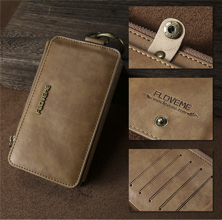 HTB1c6WHsnlYBeNjSszcq6zwhFXa0 FLOVEME Luxury Retro Wallet Phone Case For iPhone 7 7 Plus XS MAX XR Leather Handbag Bag Cover for iPhone X 7 8 6s 5S Case shell