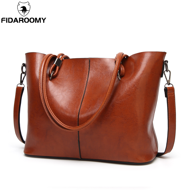 Leather Bags Handbags Women Famous Brands Big Casual Women Bags Trunk Tote Spanish Brand Shoulder Bag Ladies large Shoulder Bags real leather bags handbags women s famous brands bolsa feminina big casual women bag female tote shoulder bag ladies large black