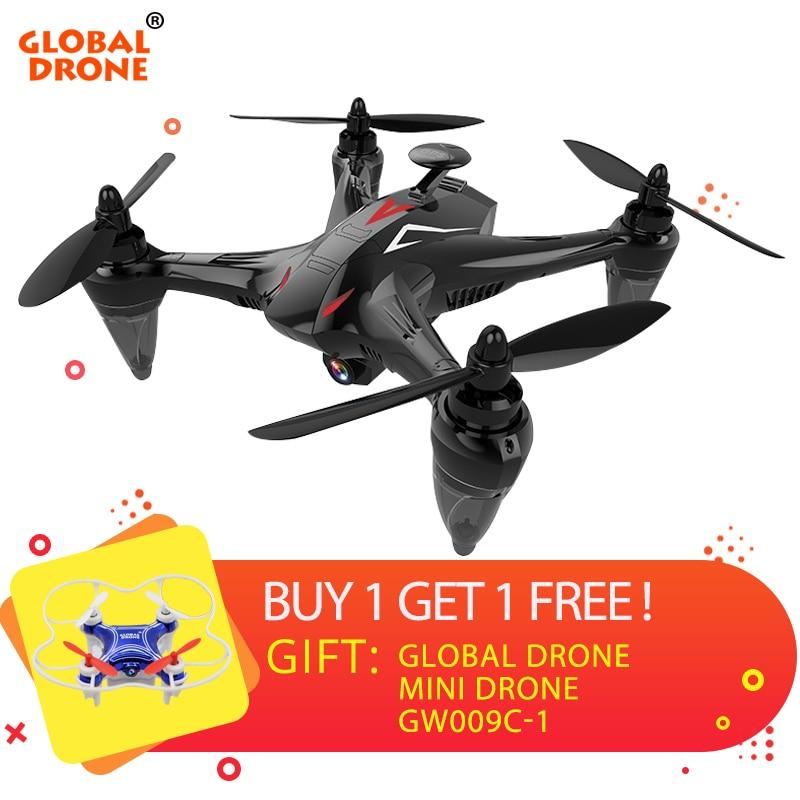 купить Global Drone Ray GW198 Brushless RC Dron with Camera HD Follow Me Quadcopter Altitude Hold Professional GPS Drone VS S70W X183 по цене 10850.37 рублей