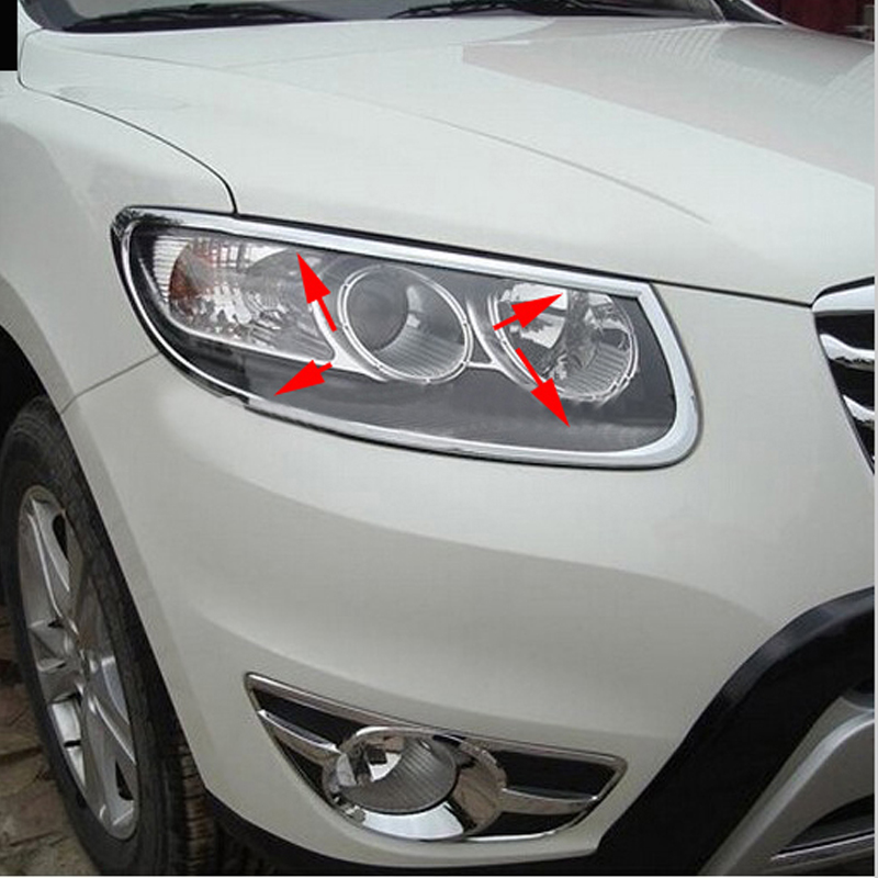 2011 Hyundai Santa Fe Exterior: Fit For HYUNDAI Santa Fe 2010 2011 2012 Chrome Front