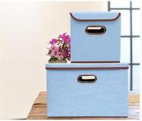 Underwear Finishing Box Clothes Cloth Folding Book Storage Box Cotton And Linen Storage Cloth Box Covered