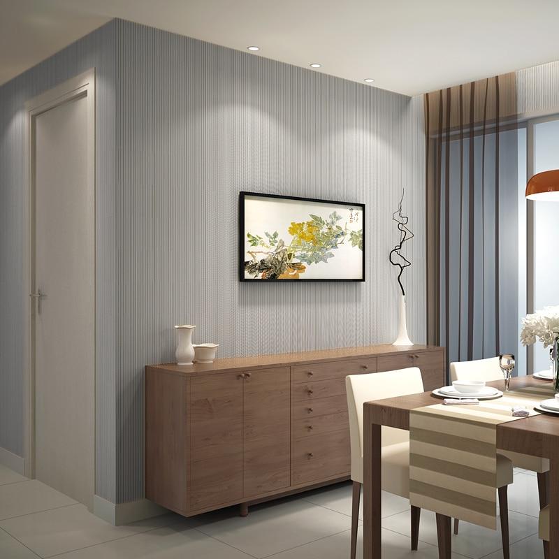 Luxury Gestreifte Tapete 3D Stereoskopischen Für wohnzimmer Sofa ...