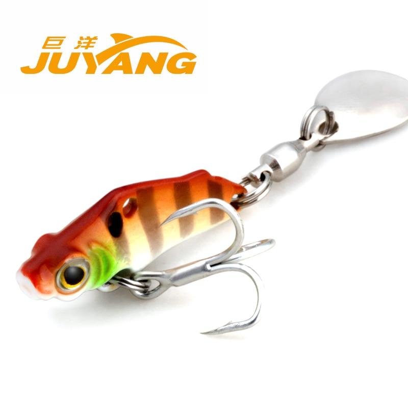 1PCS 3cm 3g mini fishing lures wobblers metal hard sequin VIB bass peche trout fishing baits pesca hard pedal small mini water fishing
