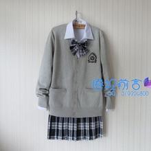JK Navy Marinero Uniforme Escolar Japonés Cosplay Lolita Uniforme Escolar para Las Niñas Estilo Preppy Harajuku Suéter + Camisa + Corbata + falda
