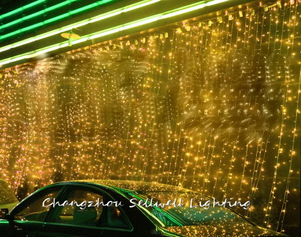 Sapin de noël artificiel cadeau de noël Navidad bien! festival lumière vitrine hôtel décoration 3*10 m Led toile de fond lampe H212