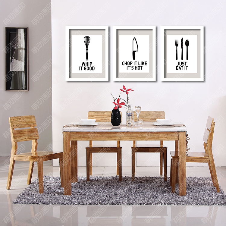 Us 5 25 30 Off P32 Eat Well Wall Art Print Poster For Kitchen Decor Decorative Wall Picture Home Decoration Frame Not Include In Painting