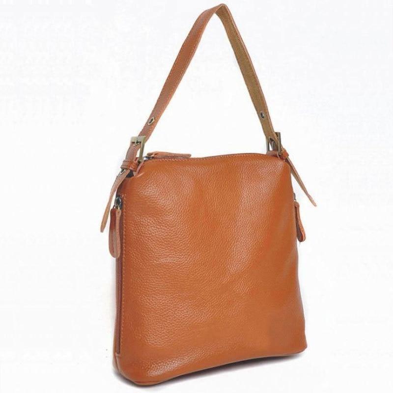 ФОТО 100% Genuine leather women handbags high quality messenger bags for women casual business female shoulder bags crossbody bag