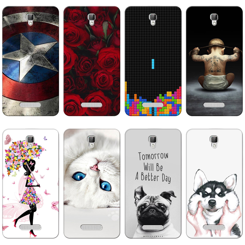 Impartial Good Quality Colorful Cases For Zte Blade L5/l5 Plus Fundas Printing Drawing Phone Girls Full Back Cover Silicone Soft Case Capa Fitted Cases