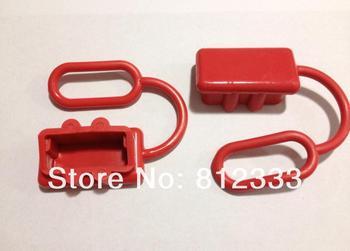 20 unids/lote cubierta de polvo rojo para Anderson SB50A 50A/SMH SY50A 50A conector de alimentación