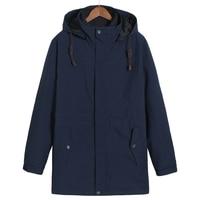 플러스 사이즈 10xl 9xl 8XL 겨울 재킷과 코트 두꺼운 따뜻한 패션 캐주얼 솜 패딩 옷 젊은 남성 파카 맞는 눈 차가