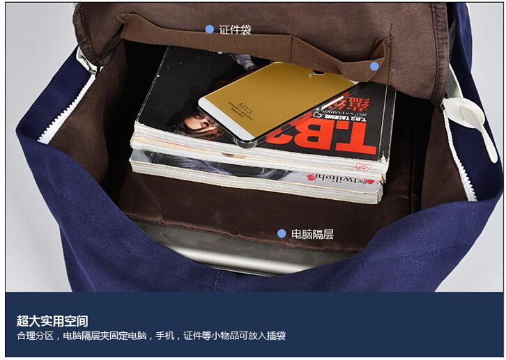 men fashion backpack22