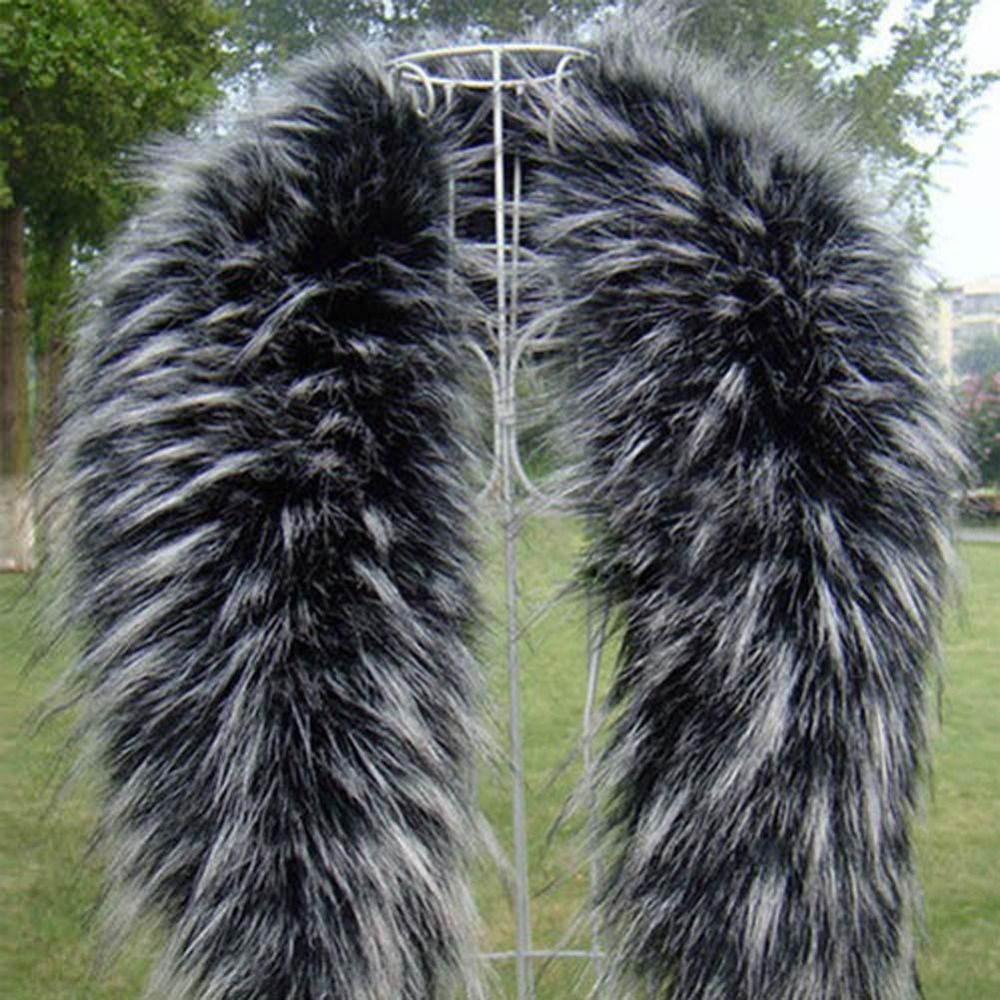 Sale Fur Collar Winter Warm Fur Womens Scarfs Faux Fur Coat Scarves Collar Luxury Raccoon Fur Neck Collar Free Shipping