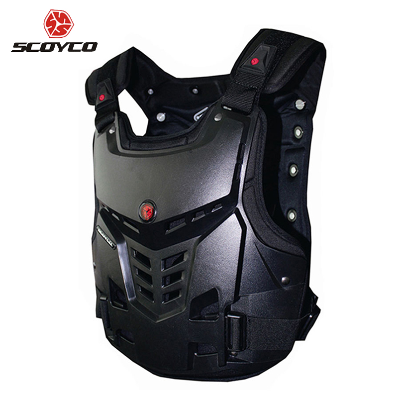 SCOYCO Motorcycles Chest and Back Protector Armor Vest Motocross Off-Road Racing Riding Body Protective Gear Guard Accessories scoyco motorcycle motocross chest back protector armour vest racing protective body guard mx jacket armor atv guards race moto